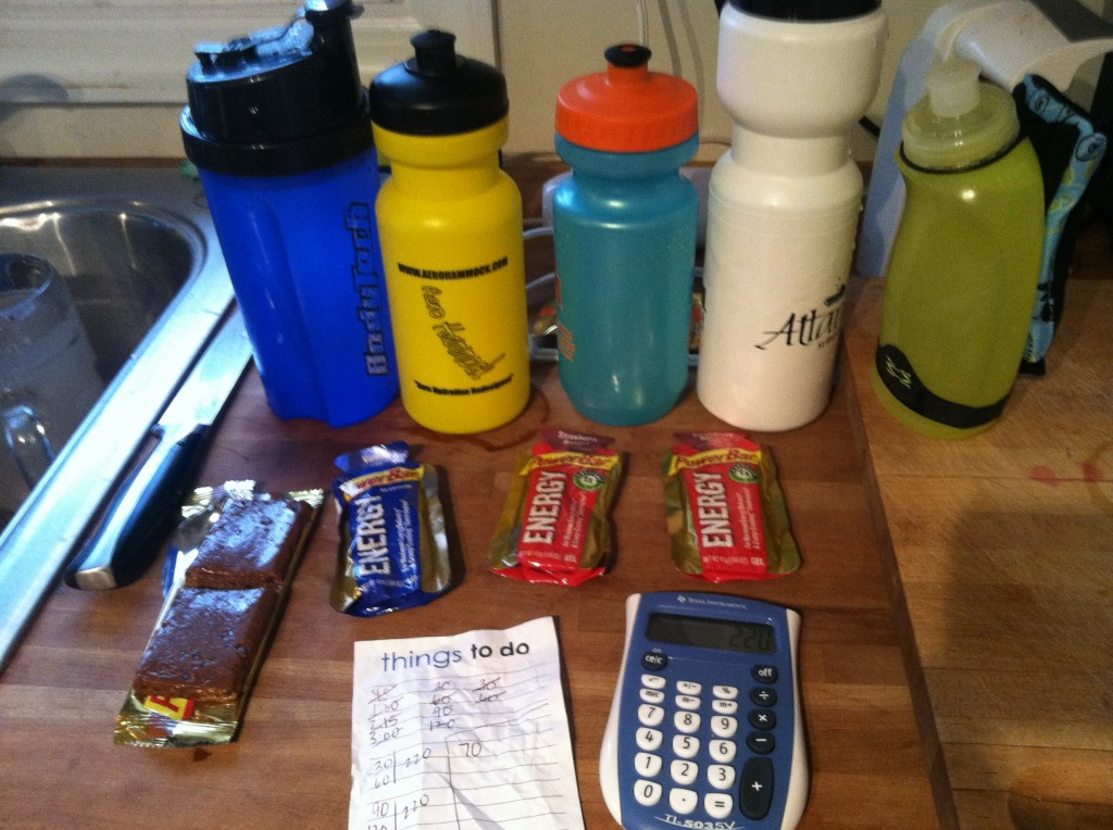 Carefully plan your nutrition strategy for racing, and be sure to test it in training!